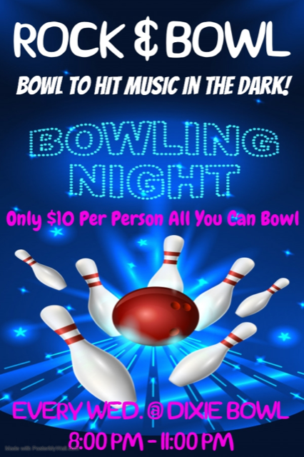 rock & bowl Dixie Bowl